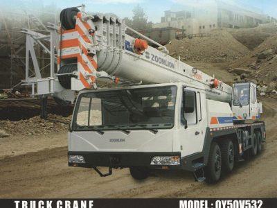 جرثقیل کامیونی QY50V532